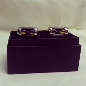 Working hourglass novelty cuff links $45